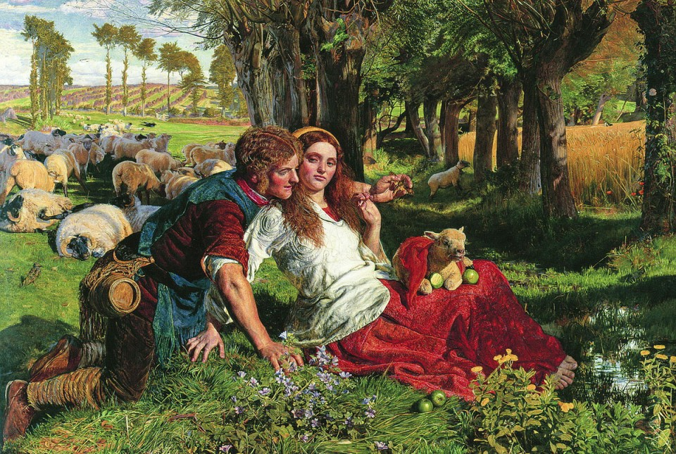 romanticism and lamb