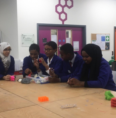 Year 9 Makerspace trip